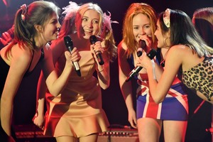 Spice Girls on stage in Stars in their Eyes 2019