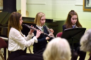 Performers in 4th Form Music Recital