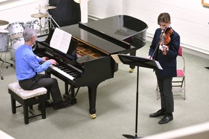 Violinist in 4th Form Recital February 2019
