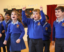 Pre-Prep pupils enjoy drama workshop Feb 19