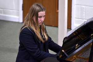 Senior School Pianist performs in 4th Form Recital Feb 19