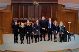 Senior School Singers in United Reformed Church recital