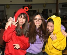 Boarders at Chinese New Year celebrations 2019