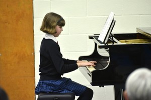 Prep School pianist performance in Form 1 Concert 2019