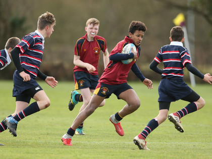 College U13 7 a side rugby tournament