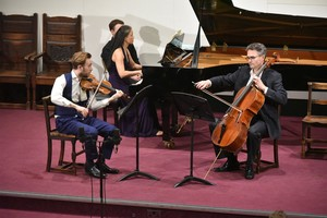 Vela Ensemble perform in Memorial Hall