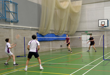 Winning Season for College Badminton Players
