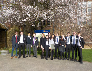 College delegates at Felsted for Model UN Conference 2019