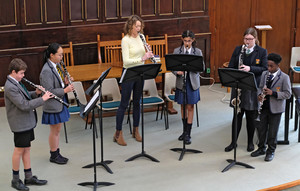 Clarinet Ensemble in United Reformed Church