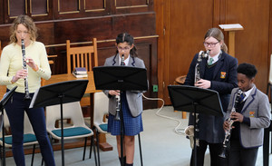 Prep & Senior School Musicians in United Reformed Church