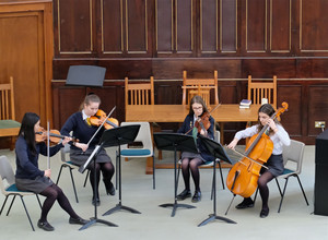 String Ensemble performing in United Reformed Church