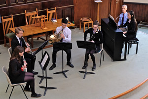 Prep & Senior School Musicians in Ensemble Recital URC