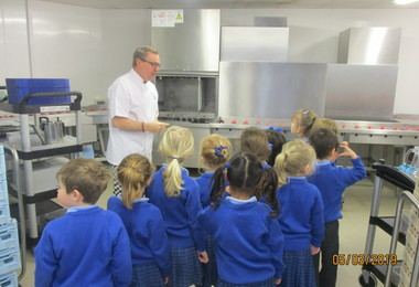 Pre-Prep Are Given a Taste of College Kitchens