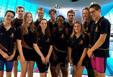 Swimmers Make Waves at Bath & Otter Cups