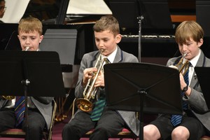 Prep School musicians in Ensemble Concert 2019