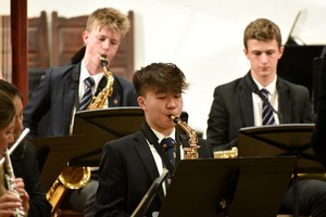 Senior School performers in Ensemble Concert 2019