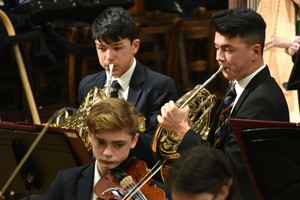 Ensemble Concert in Mem Hall with Prep & Senior School