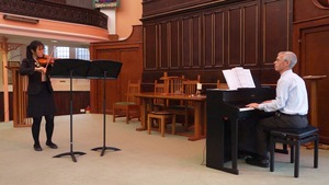Solo violin recital in United Reformed Church