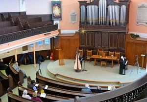 United Reformed Church during College recital