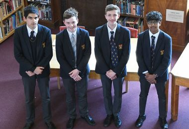 Junior Debating finalists 2019