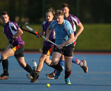 Hayward and Collett play in Senior House Hockey 2019