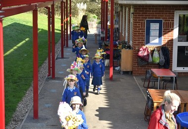 Easter Bonnet Parade in the Pre-Prep 2019