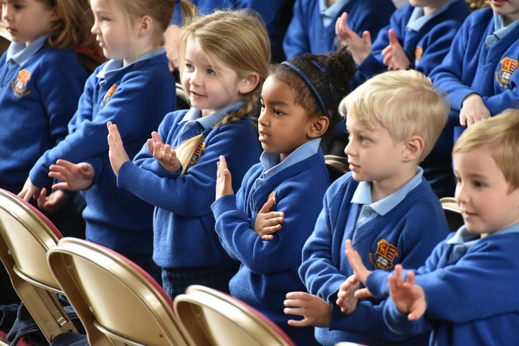 Easter Service for Pre-Prep pupils 2019