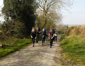 Silver DofE Practice Expedition March April 2019