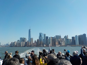 Business & Economics Students on Boat Trip around NYC