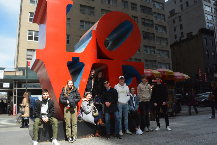 Sixth Form Art Trip To NYC Easter 2019