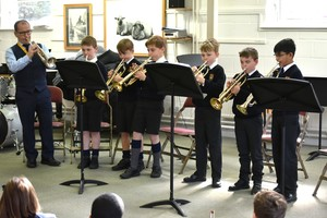 Prep School trumpetists in Instrumental Recital March 19