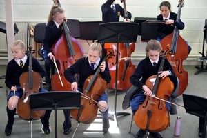 Prep School Cellists perform in Instrumental Recital 2019