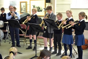 Prep School pupils in Instrumental Recital March 2019