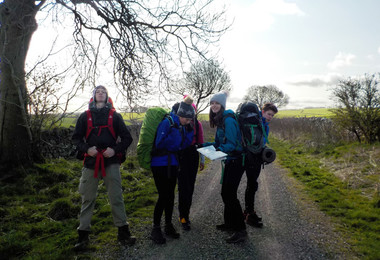 Students on Silver DofE Practice April 2019