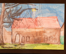 Year 2 mem hall drawing for 150th anniversary