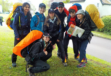 Bronze  DofE Practice Expedition May 2019