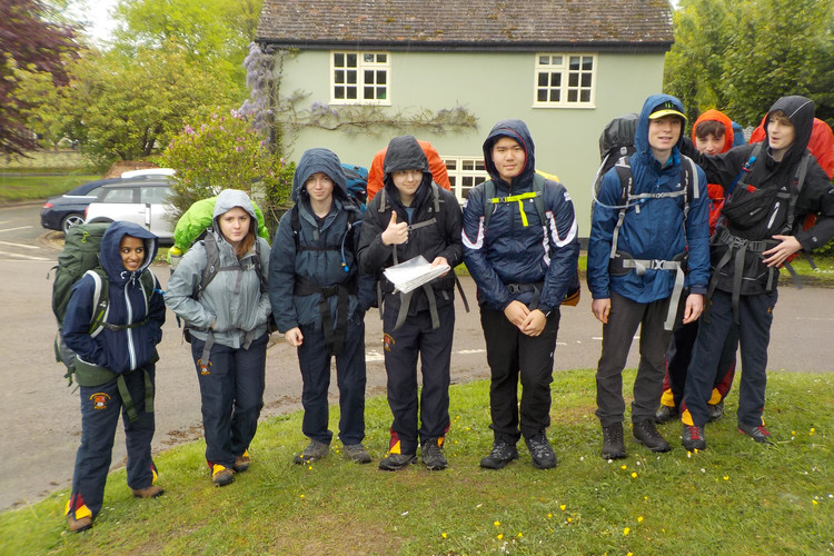 L5th Bronze Practice Expedition Pupils May 2019