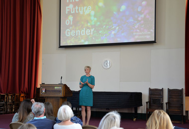 Anna Hickey gives The Future of Gender Ferguson Lecture talk