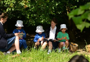 Once Upon A Time, in Reception Forest School...