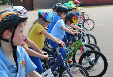 Year 2 Move Up a Gear on Bikeability Day