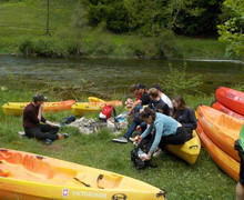 Kayaking Trip for L5th in Switzerland May 2019