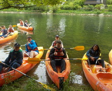 L5th kayaking on French Exchange to Switzerland May 2019