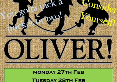 Oliver! - Tickets now on parentmail and selling fast.