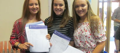 Students achieve highest  GCSE results in the school's history