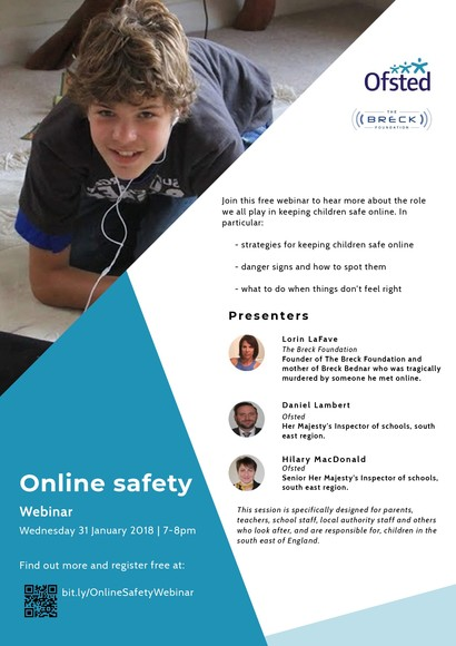 FLYER Webinar Online Safety SE