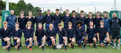BW students meet England Rugby Coach Eddie Jones