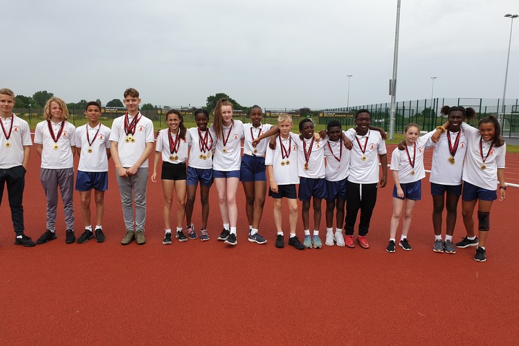District athletics 2