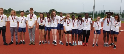 Year 7 & 8 District Athletics Success