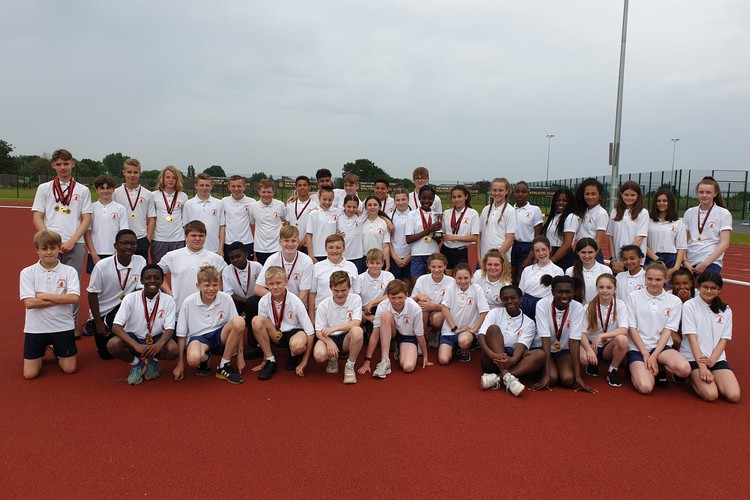 District athletics 3