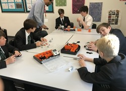 Lego challenge for students